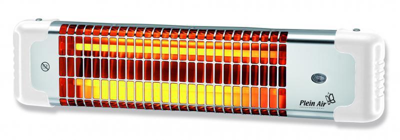 Reglette infrarouge au quartz 600 1200w osily ref - Chauffage salle de bain infrarouge ...