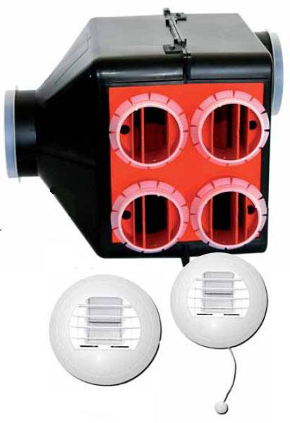 kit vmc hygror glable avec piles pour 5 pi ces ou plus. Black Bedroom Furniture Sets. Home Design Ideas