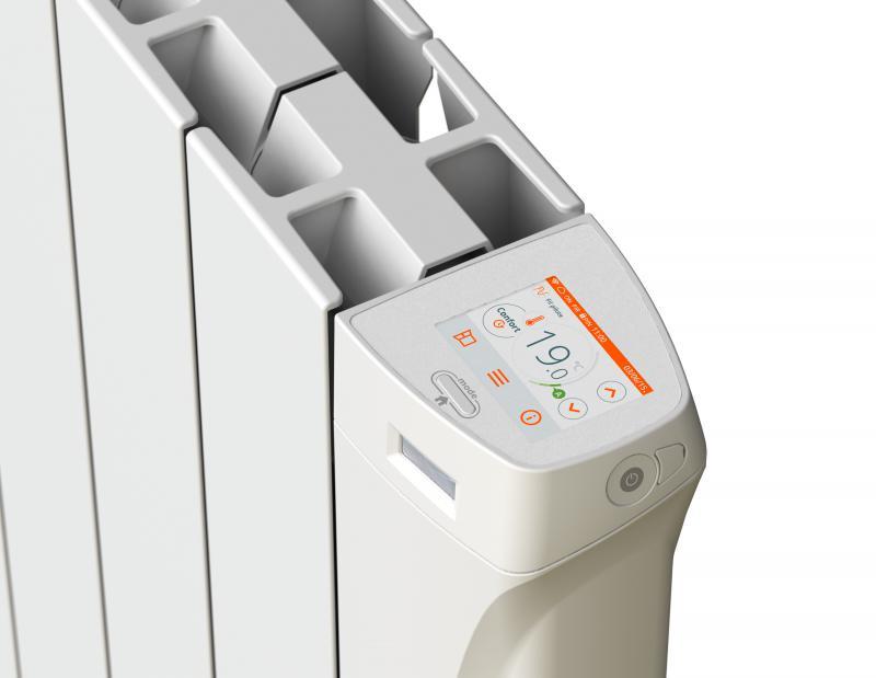 Radiateur connect pilotable e ketsch 1500w avec wifi et - Radiateur fluide caloporteur 1500w ...