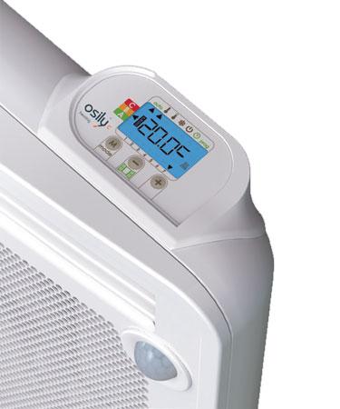 Panneau rayonnant nef 1000w horizontal detecteur osily ref os03nhd03 panneau rayonnant - Chauffage panneau rayonnant consommation ...