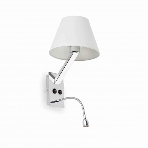 FARO - MOMA-2 APPLIQUE BLANC 1LED 1W 6000K 80LM