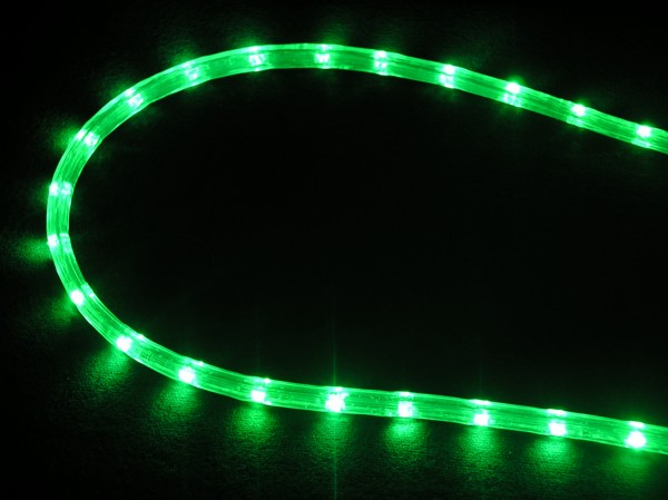 cordon lumineux fixe touret 44 m led vert 18 led m 230. Black Bedroom Furniture Sets. Home Design Ideas
