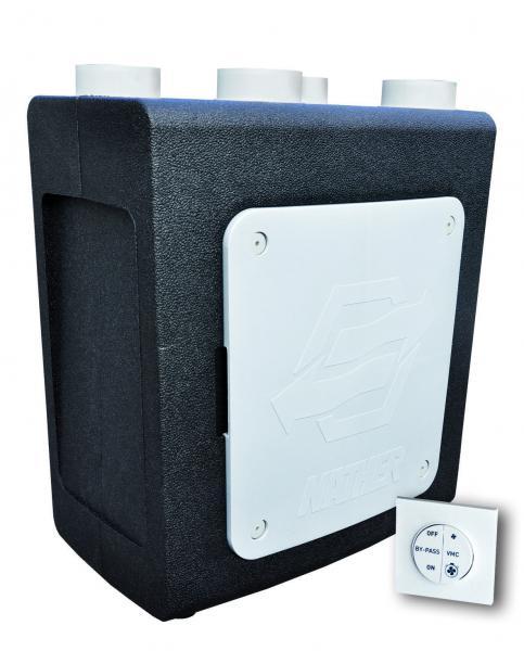 Heveo 2 filaire nather ref 502401fil ventilation for Ventilation simple flux hygroreglable
