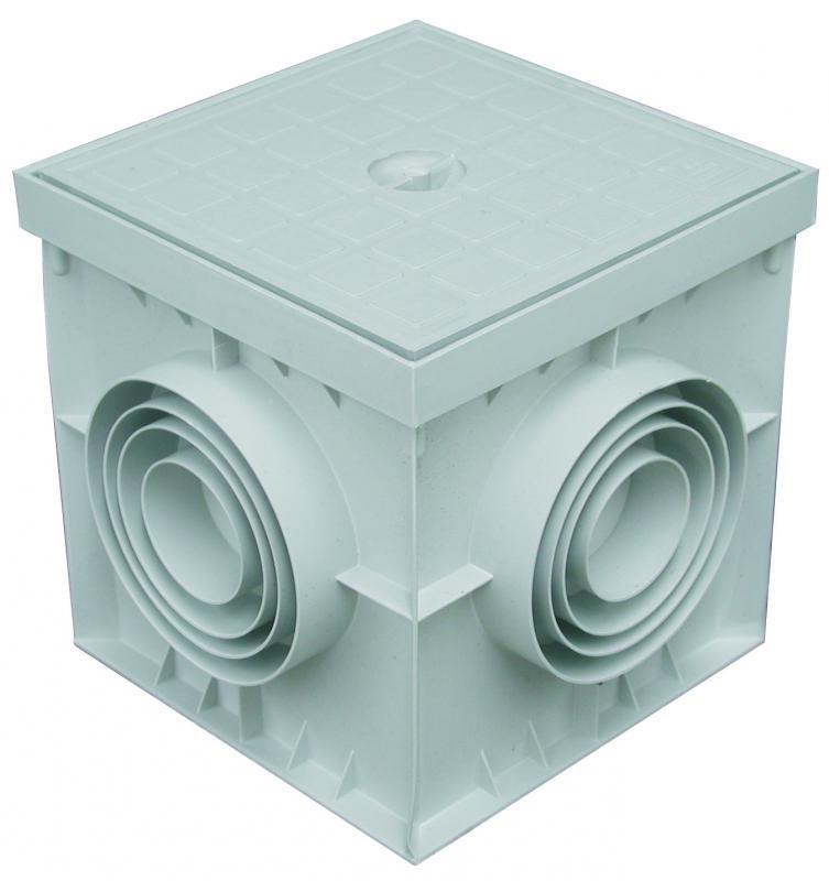 Chambre de tirage 200x200mm eris ref pzc2020 r seaux for Chambre de tirage