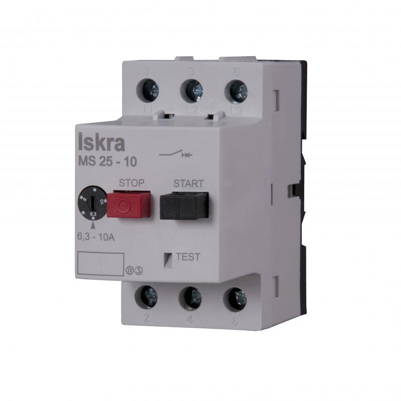 Disjoncteur moteur 10a 16a eris ref ms25 16 disjoncteurs industriel disjoncteurs moteur - Disjoncteur magneto thermique ...
