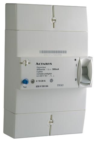 Disjoncteur edf non diff rentiel 30 60 4 poles eris ref db400060a nd disjoncteur de - Branchement disjoncteur differentiel ...