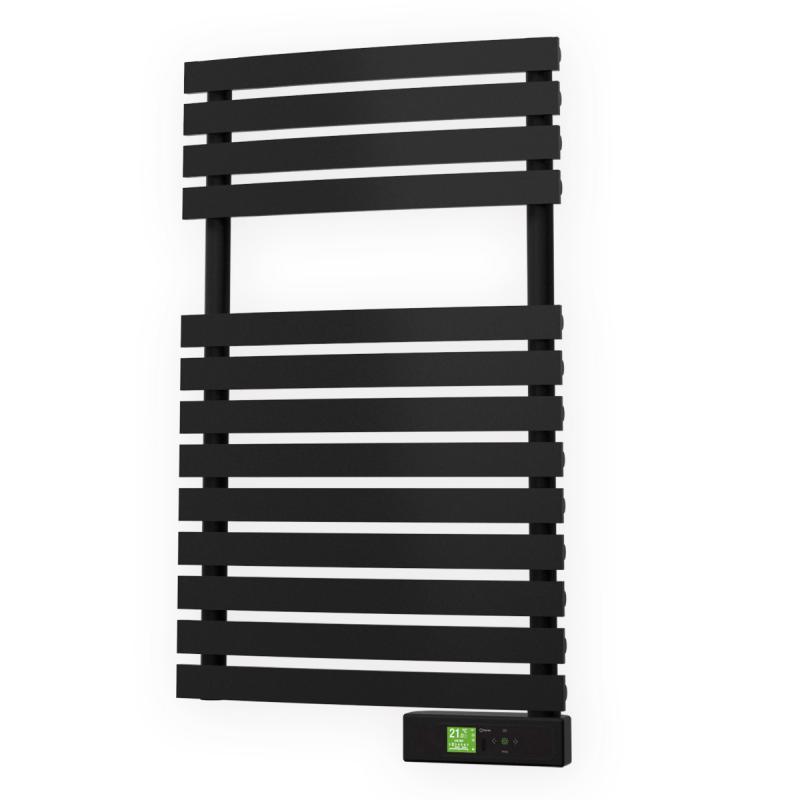 s che serviettes delta noir 300w rointe ref dtf030seb. Black Bedroom Furniture Sets. Home Design Ideas