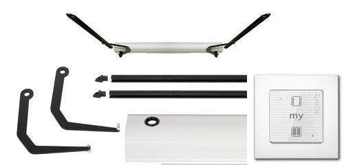 kit yslo flex rts 2v blanc somfy france ref 1 240 034 motorisation kits motorisation volets. Black Bedroom Furniture Sets. Home Design Ideas