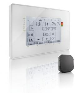 SOMFY FRANCE Thermostat radio fil pilote + 1 récepteur