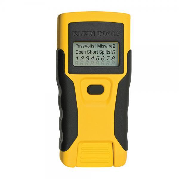 Lan scout testeur c blage rj45 turbo tronic ref vdv526052 outils de gestion des r seaux - Testeur cable rj45 ...