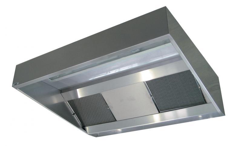 Awesome Su0026P FRANCE SYSTEMES DE VENTILATION   Hotte Statique Extra Plat Hauteur 40  Cm Longueur 3m Sans