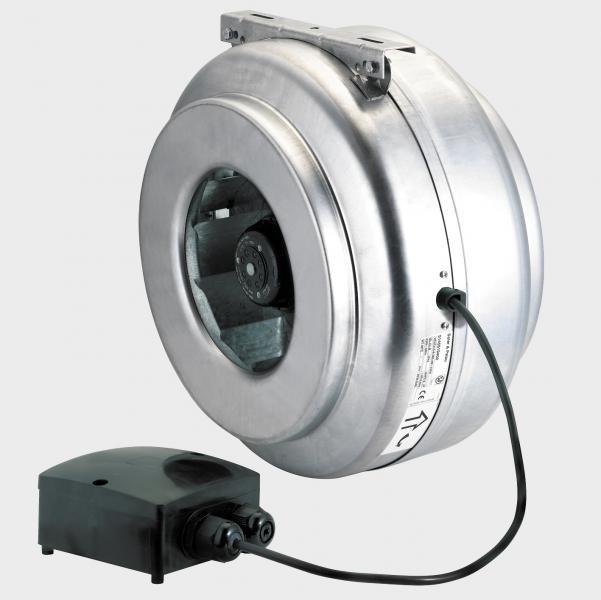 extracteur centrifuge in line 1000 m3 h d200 mm s p. Black Bedroom Furniture Sets. Home Design Ideas
