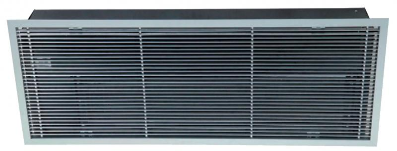 cor 6 1000 ft rideau d 39 air chaud froid encastre 3 et 6 kw longueur de grille 1148 mm s p france. Black Bedroom Furniture Sets. Home Design Ideas