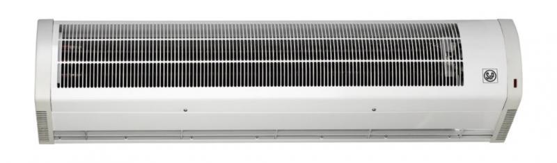 Rideau air chaud fixation murale ou suspendue lg1080mm for Rideau air chaud