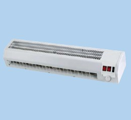 Rideau air chaud froid 2 4kw longueur 860 mm s p unelvent for Rideau air chaud