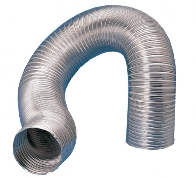 gaine semi rigide aluminium d125mm longueur 3 m s p france systemes de ventilation ref 820190. Black Bedroom Furniture Sets. Home Design Ideas