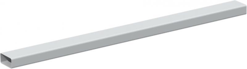 conduit plat pvc rigide section rectangulaire 55x110 s p france systemes de ventilation. Black Bedroom Furniture Sets. Home Design Ideas