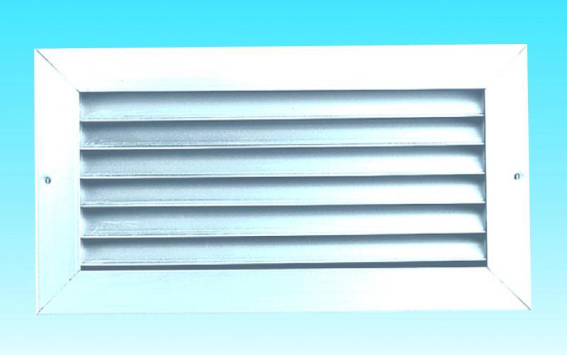 Grille de transfert anti vue aluminium 300x500 mm s p france systemes de ventilation ref 852049 - Grille de ventilation aluminium ...