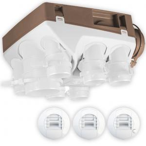 OZEO ECOWATT - kit vmc hygro ozeo basse conso type a t5/6 cuisine pile / wc detection presence