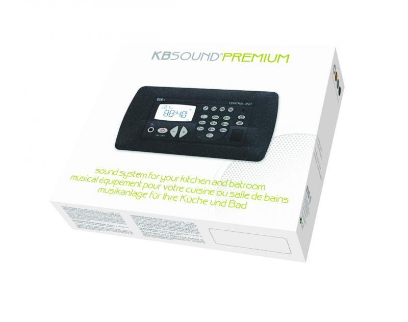 Kb sound premium h p chrom s xeta premium europea ref for Radio pour la salle de bain
