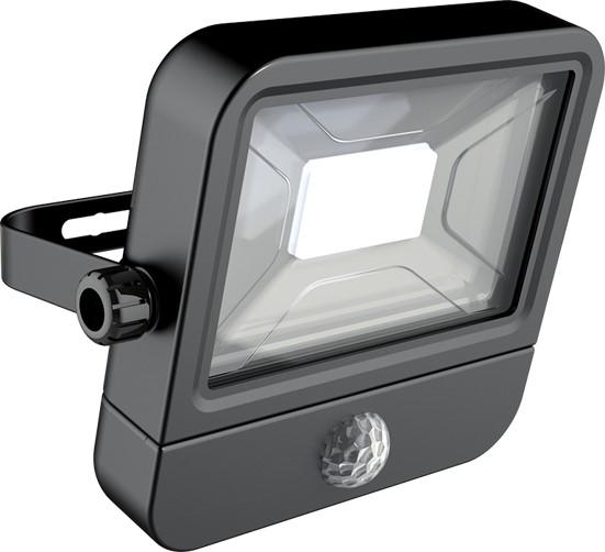 Projecteur led mural 800 lumens ip65 10w 120 6500k - Spot halogene exterieur avec detecteur ...