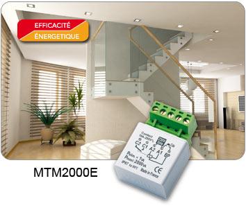 Minuterie encastree 2000w yokis domotique ref mtm2000e Gestion d energie domotique