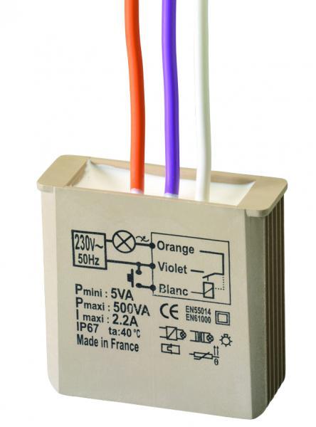 Minuterie encastre yokis domotique ref mtm500e gestion Gestion d energie domotique
