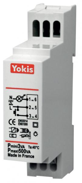 Minuterie modulaire yokis domotique ref mtm500m gestion Gestion d energie domotique