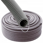 photo WIREPLAST  Gaine annel�e 20 GRIS ATF 100M