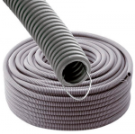 WIREPLAST Gaine annelée 20 GRIS STF 100M