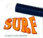 WIREPLAST Gaine annelée 3422 Surf Noir 25 ATF