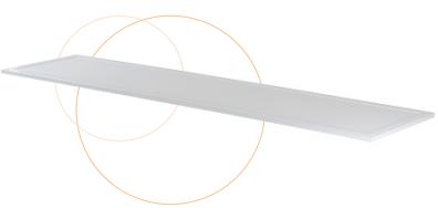 panneau led lited blanc 4000k double c lited ref lt 30120db 40 d coratif galons liserets et. Black Bedroom Furniture Sets. Home Design Ideas