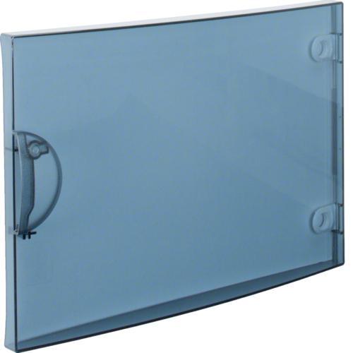 Porte transparente gamma 18 pour gd118a hager ref gp118t for Porte interieure transparente