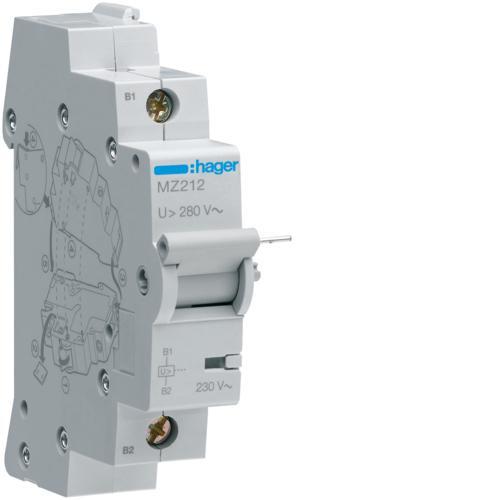 Bobine seuil 230v ac hager ref mz212 interrupteurs interrupteur sectionneur interrupteurs - Sectionneur porte fusible telemecanique ...