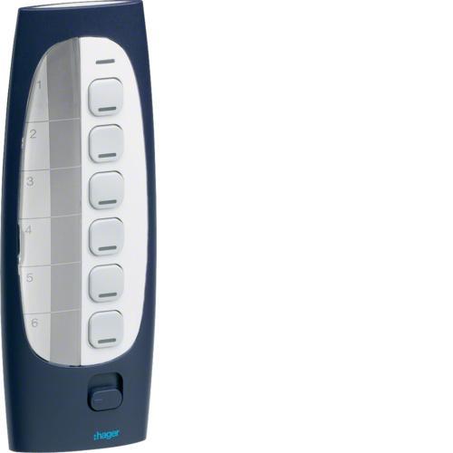 t l commande 6 boutons poussoir 18 entr es knx radio. Black Bedroom Furniture Sets. Home Design Ideas