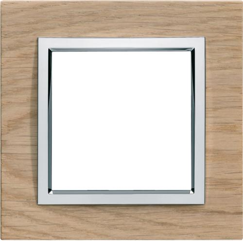 kallysta pure plaque 1 poste bois massif col sevea alba hager ref wk901 composable plaques. Black Bedroom Furniture Sets. Home Design Ideas