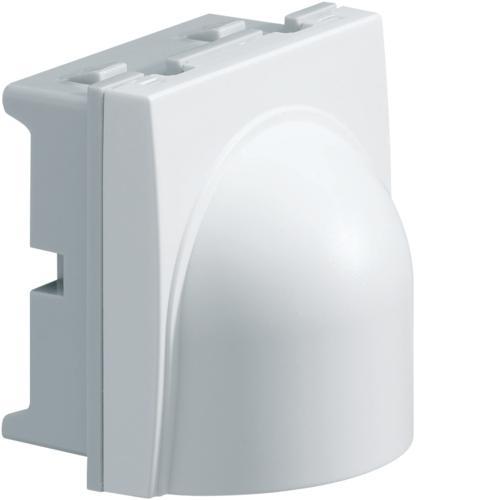 systo sortie de c ble blanc hager ref ws155 composable module 45 prise sortie de c ble. Black Bedroom Furniture Sets. Home Design Ideas