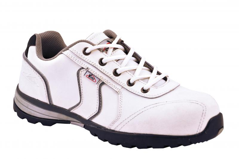 Chaussures de securite blanche cuir acti vepro ref - Chaussure de securite blanche ...