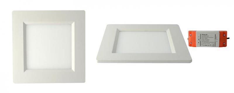 led plafond 150 x 150 10 watt blanc miidex ref 7752 d coratif galons liserets et flexibles. Black Bedroom Furniture Sets. Home Design Ideas