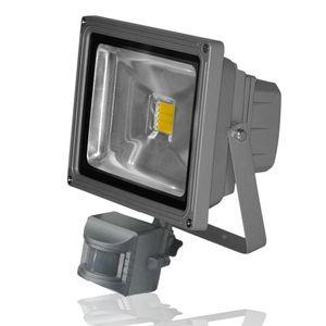 projecteur led avec detecteur 50w finiti cde lighting ref blpfl50w1ds nw projecteurs d. Black Bedroom Furniture Sets. Home Design Ideas
