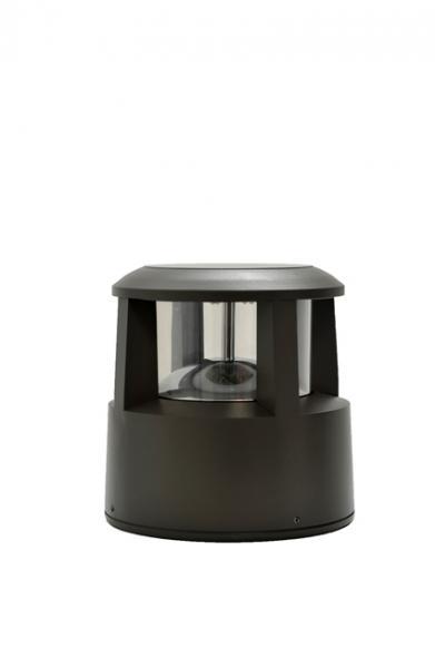 borne solaire fonte d 39 aluminium 30cm artlux ref arl b014 luminaire d 39 ext rieur solaire. Black Bedroom Furniture Sets. Home Design Ideas