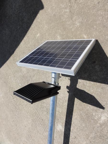 spot solaire 18 watts led artlux ref arl pb002 luminaire d 39 ext rieur solaire appareil d. Black Bedroom Furniture Sets. Home Design Ideas