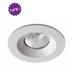 ROBUS CAVAN 8W COB LED IP65 DIMMABLE DOWNLIGHT 3000K Argent�