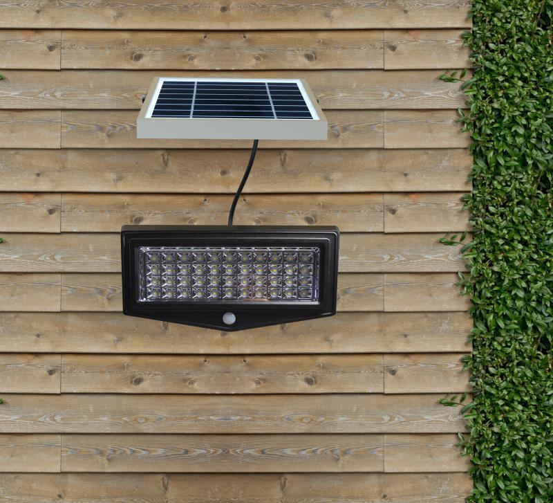 projecteur a panneau solaire deporte 2e led ref 2el ppd. Black Bedroom Furniture Sets. Home Design Ideas