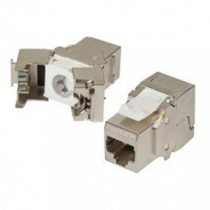 NEKLAN Embase RJ45 Keystone Cat 6 FTP à sertissage rapide