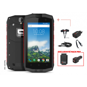 CROSSCALL Pack Pro smartphone CROSSCALL TREKKER M1 CORE + Housse + Chargeur