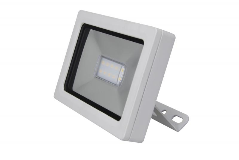 Projecteur slim flood led ip65 slim blanc 5000k 10w for Projecteur led exterieur design