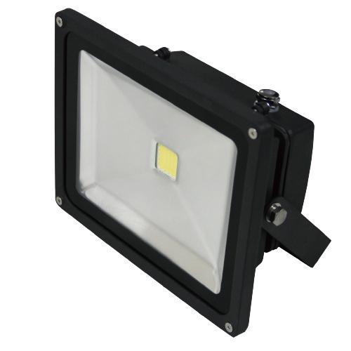 projecteur led ip65 noir 4000k 50w 3500lm renesola france ref rfl050v0203 projecteurs d. Black Bedroom Furniture Sets. Home Design Ideas