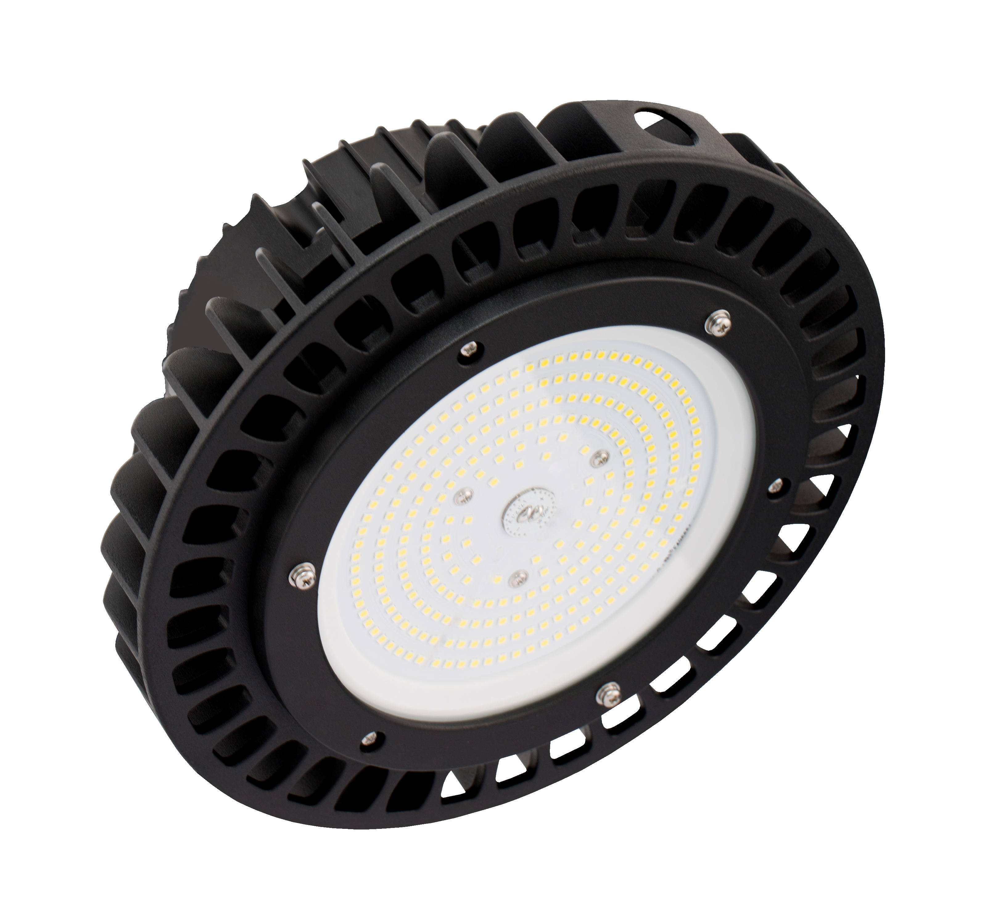 IN HOUSE LED - GAMELLE INDUSTRIELLE LED 100W NOIR 4000K