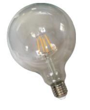 NETELEC   IN HOUSE LED   LAMPE FILAMENT GLOBE 8W 1040LM 4000K DIM